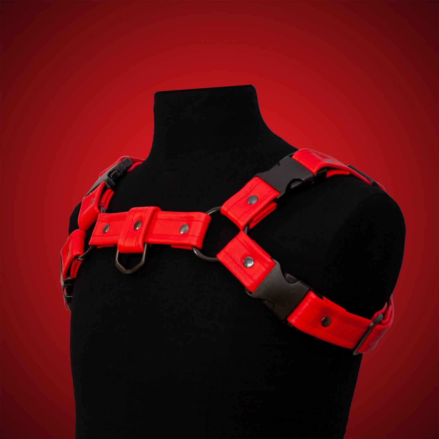 One Size Sport Harness - Red